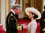 Catherine Zeta Jones is made a Commander of the British Empire