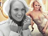 Carrie Underwood is Allure's February 2013 cover girl