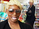 Nene Leakes, like so many other stars, wanted a little time off from high heels and a cinched waist as she stopped for snacks in Hollywood on Monday after the Golden Globes
