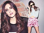 Allison Williams from Girls - front cover of February issue of Company magazine