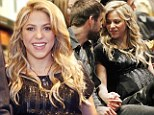 Mum's the word! Shakira shows off her huge baby bump as she prepares to give birth