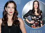 Liv Tyler works out with trainer David Kirsch who advocates a tough regimen of cardio and muscle-sculpting using a stability ball, medicine ball and dumb-bells