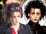 Move over Johnny! Helena Bonham Carter channels Edward Scissorhands as she steps out with extremely scruffy hair