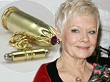 Judi Dench created stylish souvenirs from her Skyfall bullet casings