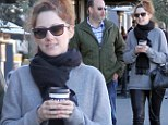 Judy Greer heats up Hollywood in leather trousers as she returns from Broadway stint in Dead Accounts