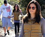 Jenna Dewan-Tatum and Channing Tatum go for a hike with their dogs