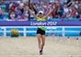 Laura Asadauskaite of Lithuania crosses the line in first place to win the gold medal