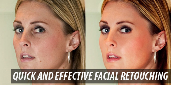 Quick and Effective Facial Retouching