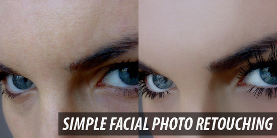 Simple Facial Photo Retouching