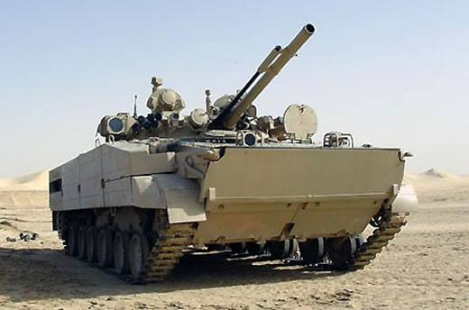 The UAE is upgrading 135 BMP-3 amphibious infantry carriers under a 74 million contract awarded through Russia's arme exporter Rosoboronexport.