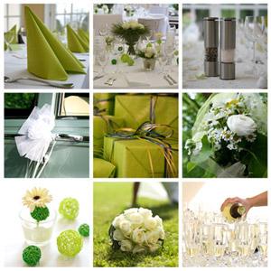 Die Gestaltung der Hochzeitsdeko erfordert viel Liebe zum Detail. Zuerst sollte man sich Gedanken über ein ansprechendes Farbkonzept machen. – © Esther Hildebrandt - Fotolia.com
