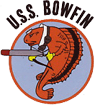 Logo of the U.S.S Bowfin