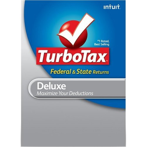 Cheap TurboTax Deluxe Federal e-File State 2012 Download for PC/Mac