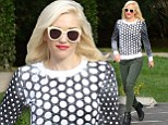 The No Doubt star looked every inch the polished rock star as she strutted her stuff in Los Angeles on Wednesday.