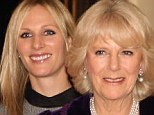 Zara Phillips at Clarence House with fellow Olympians Mary King, Tina Cook and Laura Bechtolsheimer at a reception hosted by the Duchess of Cornwall