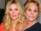 Brandi Glanville and Adrienne Maloof from The Real Housewives of Beverly Hills