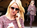 Bohemian babe in burgundy! Naomi Watts fits in with the Venice Beach crowd as she steps out in billowing top and edgy trousers