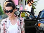 Star in a reasonably priced car! Kate Beckinsale gets lift in friend's banger