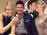 'She's the best part of every day': Ryan Seacrest opens up to Chelsea Handler about marrying Julianne Hough