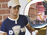 Halle Berry is seen taking her pet cat to the vet in Los Angeles, California