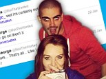 'I'm certainly not!': Max George quashes rumours he is dating Lindsay Lohan once and for all