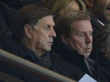 Watchful eye: Redknapp was in France to see Capoue play