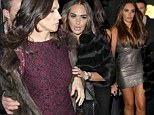 Don't cramp my style: Tamara Ecclestone enjoys lavish meal with mother Slavica... but ditches her to go clubbing after