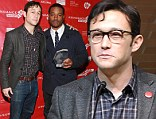 Joseph Gordon-Levitt and director Ryan Coogler winner of the Grand Jury Prize: U.S. Dramatic for Fruitvale pose with award at the Awards Night Ceremony during the 2013 Sundance Film Festival