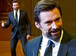 What charisma! Hugh Jackman sings and dances... at Academy of Music Anniversary Concert and Ball in Philadelphia