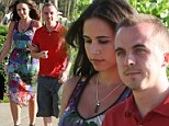 Former 'Malcom in the Middle' star Frankie Muniz and his fiance publicist Elycia Marie Turnbow