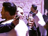 Made up? Spencer and Rylan embrace at the Celebrity Big Brother wrap party