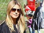 Playdate with the kids! Heidi Klum turns day at the park into family affair... and boyfriend Martin Kristen tags along too