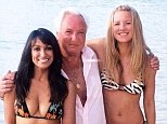 Inimitable: Legendary Michael Winner cavorts with friends in Barbados