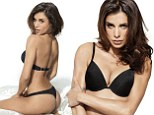George Clooney's ex Elisabetta Canalis smoulders in stills for saucy lingerie campaign