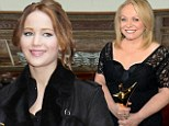 'She's really sick': Jennifer Lawrence suffering from pneumonia as Silver Linings Playbook co-star Jackie Weaver picks up her AACTA Award for best actress