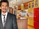 Ethan Hawke puts Manhattan townhouse on the market for $6.25m (more than twice the price he bought it for eight years ago)
