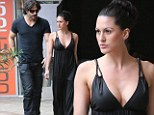 They make a striking pair! True Blood star Joe Manganiello steps out with a mystery buxom brunette