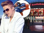 He's such a bad boy! Justin Bieber accused of shooting security guard with Nerf gun