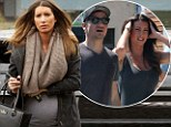 Jeremy Renner's ex-girlfriend and 'baby mama' Sonni Pacheco pictured for first time since pregnancy bombshell