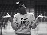 That's what you call a fashion statement! Beyonce appears to make jibes at lip-synching scandal with telling T-shirt