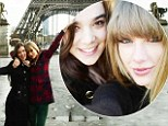 Who says you need a man in the City of Love and Lights? Taylor Swift explores Paris with True Grit star pal Hailee Steinfeld