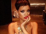 Topless? Rihanna shared a picture from a shoot in which she appears to be topless