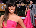 'So excited to be wearing the amazing Valentino,' the 26-year-old tweeted from the red carpet.