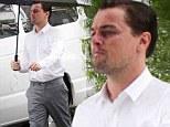 From Jack Dawson... to Jack Daniels! Leonardo DiCaprio braves the rain to shoot whiskey advert