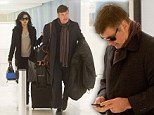 Is that a toupee or do you have the Bieber fever? Alec Baldwin shows off his full head of hair in Los Angeles Airport
