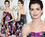 Anne Hathaway at the 24th Annual Producers Guild Awards