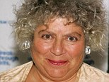 Miriam Margolyes, 71, pictured, became an Australian citizen yesterday - and marked it by launching a stinging attack on Britain