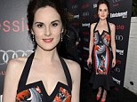 Michelle Dockery opted for a stand-out dress at Entertainment pre-Screen Actors Guild Awards party in Los Angeles on Saturday night