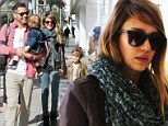 It's the Fantastic Four! Jessica Alba enjoys outing with Cash Warren and their children