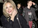 One hot mumma: Kate Hudson shows why she will always be rocker Matt Bellamy's muse